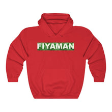 Load image into Gallery viewer, 021 Unisex Fiyaman Logo white Heavy Blend™ Hooded Sweatshirt