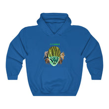 Load image into Gallery viewer, Green Summer Animal Unisex Heavy Blend™ Hooded Sweatshirt