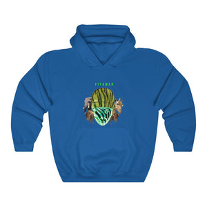 Green Summer Animal Unisex Heavy Blend™ Hooded Sweatshirt