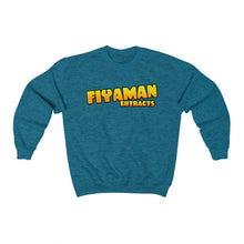 Load image into Gallery viewer, 029 Unisex Fiyaman logo gold Heavy Blend™ Crewneck Sweatshirt