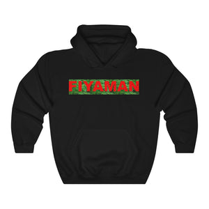 017 Unisex Fiyaman logo red Heavy Blend™ Hooded Sweatshirt