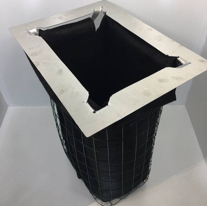 stormwater catch basin frame and liner, stormwater treatment unit