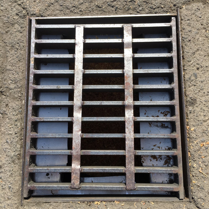 stormwater catch basin frame, liner and media, stormwater treatment unit