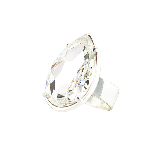 TOUCH OF CLASS STATEMENT RING (CRYSTAL)
