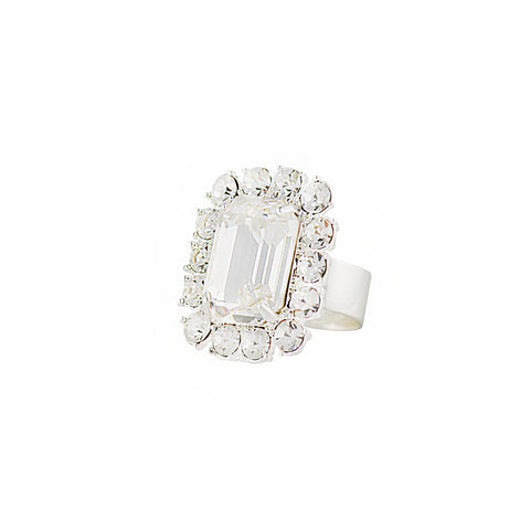 VINTAGE GLAMOUR STATEMENT RING