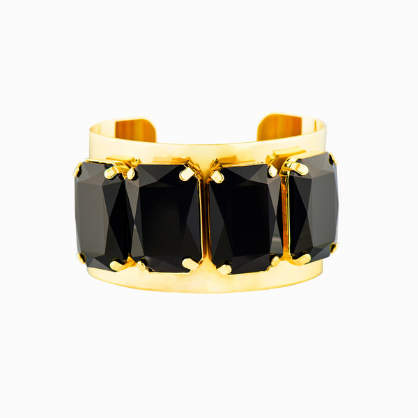 CUFFED IN GLAMOUR STATEMENT CUFF (JET)