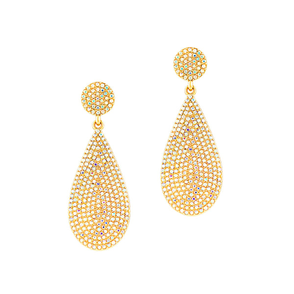 HOLIDAY GLAMOUR STATEMENT EARRINGS