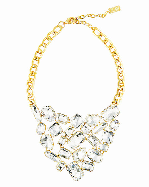 SPARKLE AND SHINE STATEMENT NECKLACE
