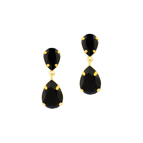 BE EXTRAORDINARY STATEMENT EARRINGS (BLACK)