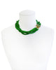 EVENING IN EMERALD STATEMENT NECKLACE
