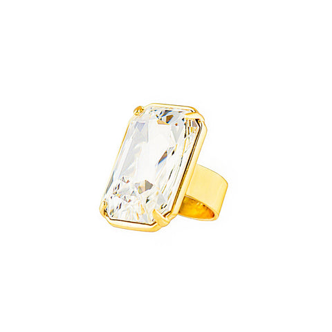 HOLLYWOOD STARDOM STATEMENT RING (CRYSTAL)