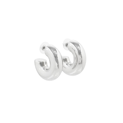 KEEP IT SHINY CLASSIC HOOPS (SILVER)