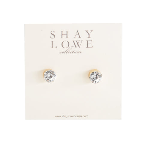 CLASSIC STATEMENT STUDS (GOLD)