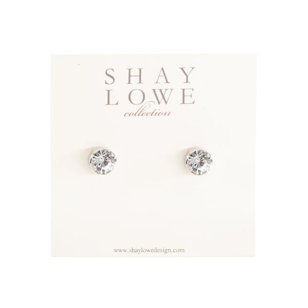 CLASSIC STATEMENT STUDS (SILVER)