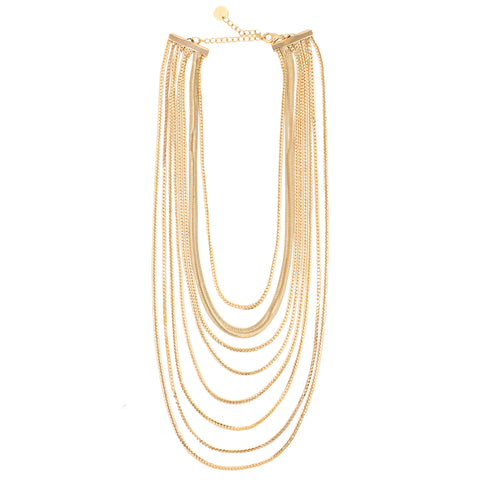 LAYERED IN GOLD CLASSIC NECKLACE