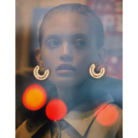 KEEP IT SHINY CLASSIC HOOPS (GOLD)