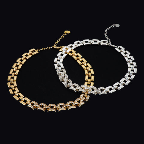 CHAIN GAME CLASSIC NECKLACE (GOLD)