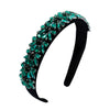 DAZZLE IN GREEN CRYSTAL HEADBAND