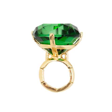 SPRING GREEN STATEMENT RING