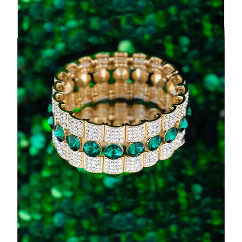 SPRING SPARKLE STATEMENT BRACELET