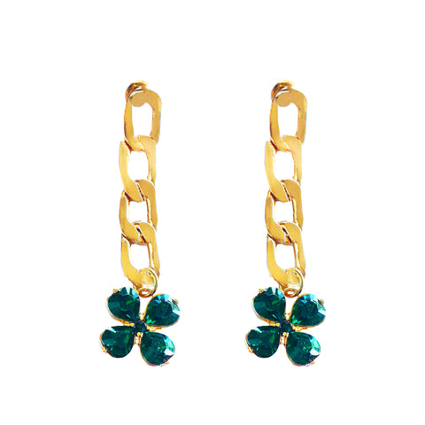 FEELING LUCKY STATEMENT EARRINGS