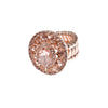 ROSE GLOW STATEMENT RING
