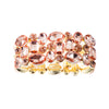ROSE GOLD GLAM STATEMENT BRACELET