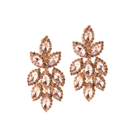 PETAL GLAM STATEMENT EARRINGS