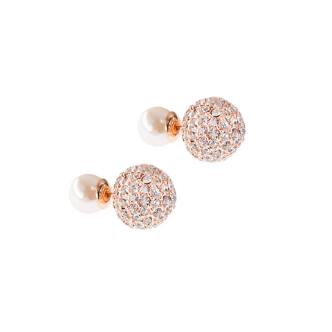 PEARL ROSE STATEMENT STUDS