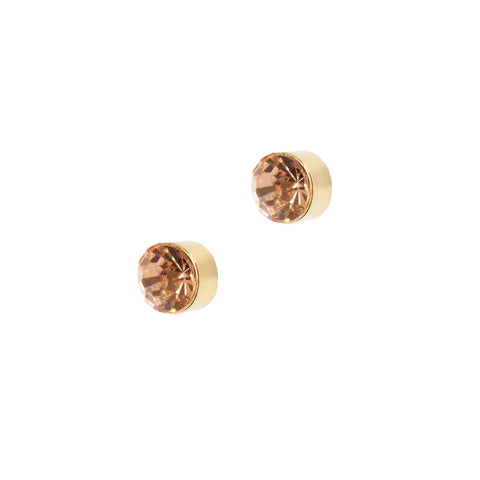 SIMPLE ROSE STATEMENT STUDS
