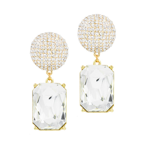 LET'S HAVE A BALL STATEMENT EARRINGS