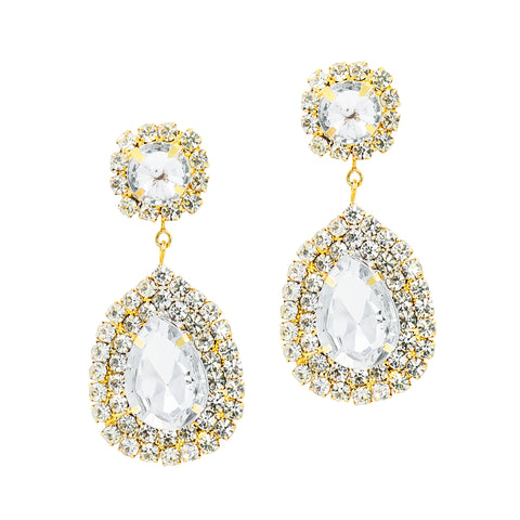 ELEGANT EMPOWERMENT STATEMENT EARRINGS