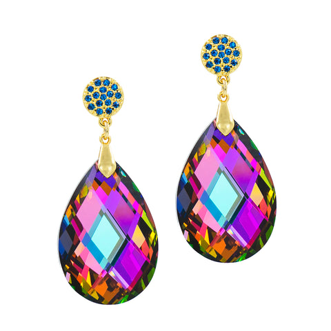 DARLING DAZZLE STATEMENT EARRINGS