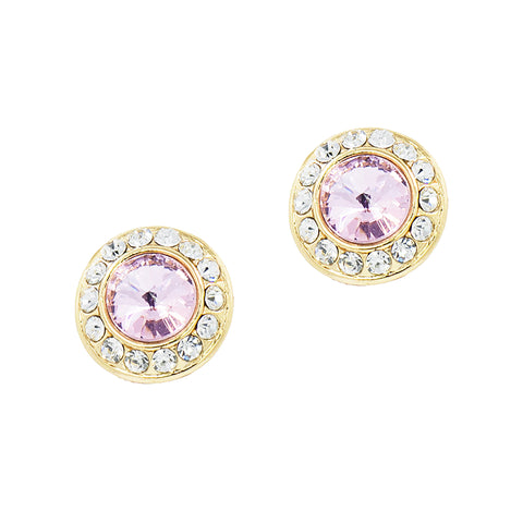 HOLIDAY GLAMOUR STUDS (PINK)