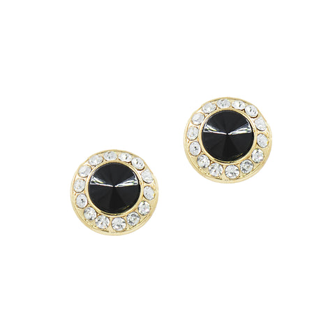 HOLIDAY GLAMOUR STUDS (BLACK)