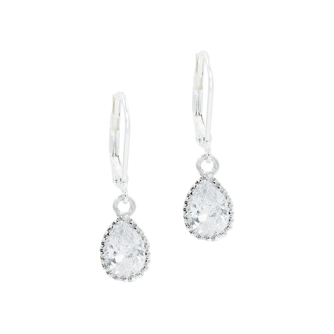 SILENT SPARKLE STATEMENT EARRINGS