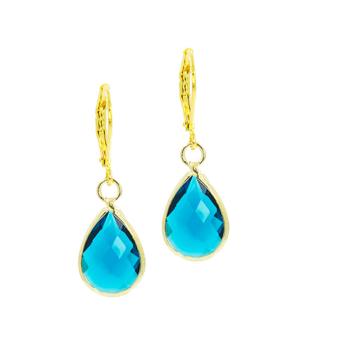 HOLIDAY AT SEA STATEMENT EARRINGS