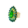 EVERGREEN EMERALD STATEMENT RING