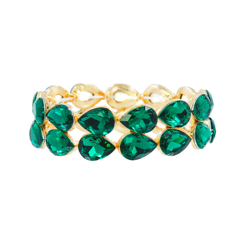 EVERGREEN EMERALD STATEMENT BRACELET
