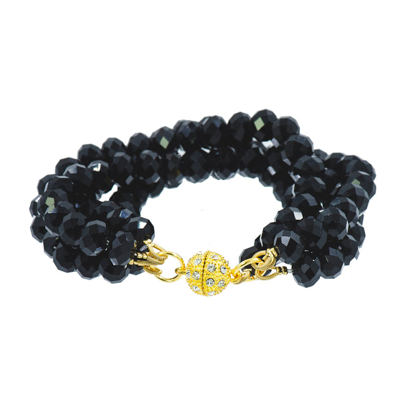 BLACK TIE NIGHTS STATEMENT BRACELET
