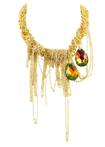 MARVELOUS MAYHEM STATEMENT NECKLACE