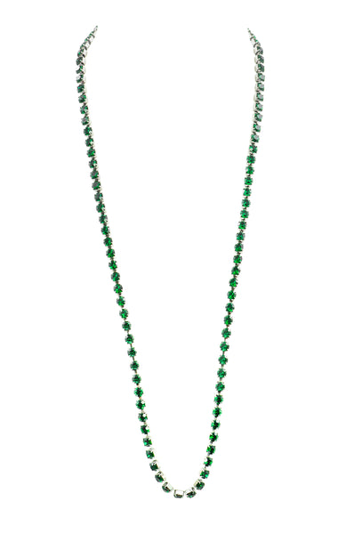 EVERYDAY ELEGANCE STATEMENT NECKLACE (EMERALD)