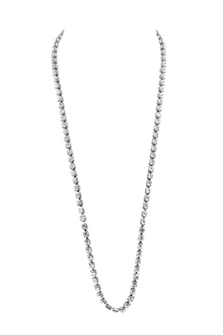 EVERYDAY ELEGANCE STATEMENT NECKLACE (CLEAR)