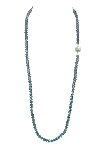UNDERSTATED ELEGANCE STATEMENT NECKLACE (GREY)