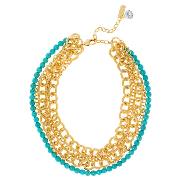 MUSKOKA SUMMER STATEMENT NECKLACE