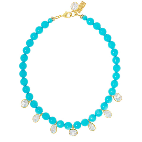 TURQUOISE DREAM STATEMENT NECKLACE