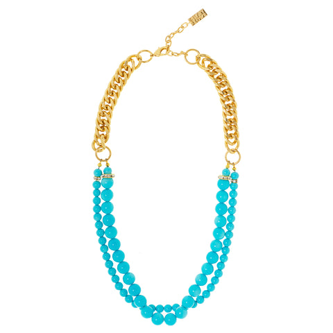 ST. LUCIA BEAUTY STATEMENT NECKLACE