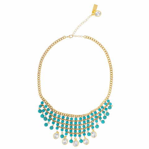 OCEAN OPULENCE STATEMENT NECKLACE