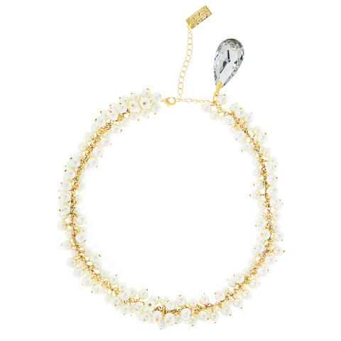 PEARL PASSION STATEMENT NECKLACE