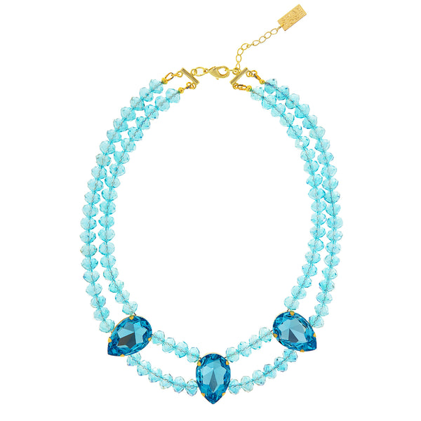 GRECIAN GLAMOUR STATEMENT NECKLACE